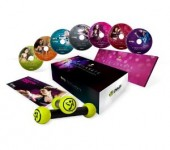 Zumba Exhilarate 5 DVD Bonus Set Plus Target Zones Bundle