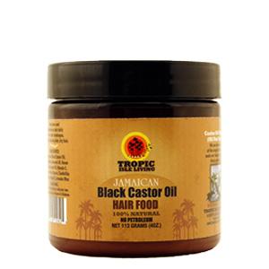 Jamaican black castor oil hair food pomade