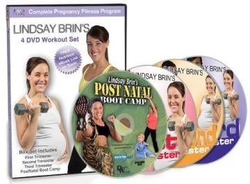 Lindsay Brin  pregnancy DVD set