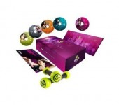 Zumba Exhilarate Body Shaping System – 4 DVD Set Plus Bonus