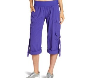 Zumba amethyst pants- rolled up
