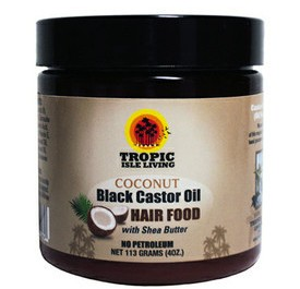 Coconut castor oil hair food