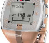 POLAR heart rate monitor watch (bronze)