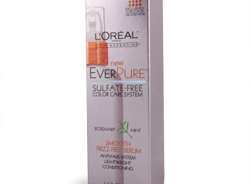 l'oreal everpure smooth frizz-free serum