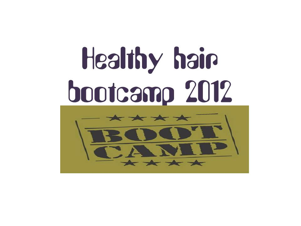 Healthy hair bootcamp 2012