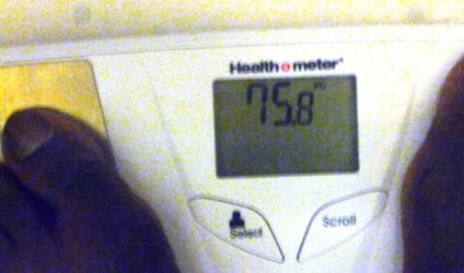 My weight 060812