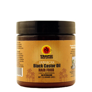 Jamaican black castor oil hair food pomade