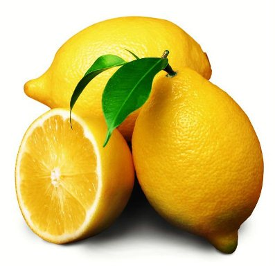 Lemon chemical peel