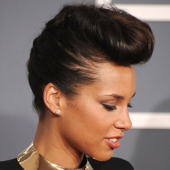 Alicia Keys Pompadour
