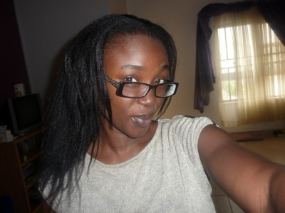 My relaxed hair 2 sizzling mommy