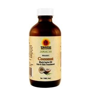 tropic isle castor coconut oil