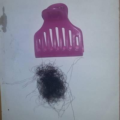 Broken hair sat 26th jan 2013