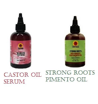 Castor oil serum vs Pimento oil