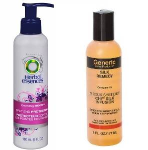 Herbal essences split end protector plus gvp silk remedy