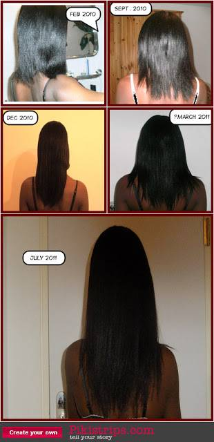 Profile- Joanne's hair journey (Grow African hair long blog)
