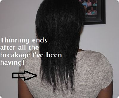 Thinning ends sizzling mommy wash day april 30 2013