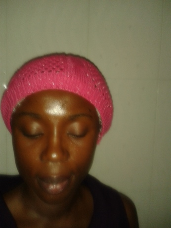 night time routine for relaxed hair beret