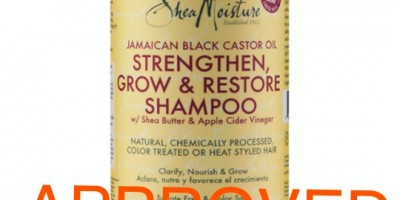 Shea Moisture Jamaican Black Castor Oil Strengthen, Grow & Restore Shampoo_REVIEWED