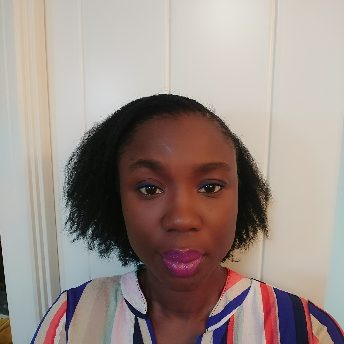 Mid-week Wash And Go On Relaxed Hair